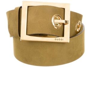 Gucci Leather Waist Belt M